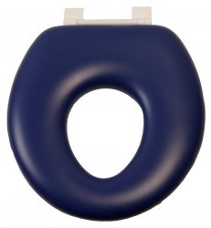 Child Oval Toilet Suite - no lid - blue