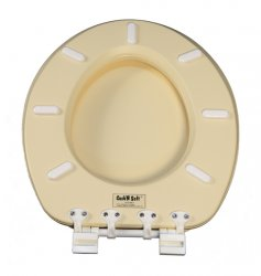 Oval toilet Seat Atlas almond