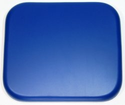 Shower Seat Soft Padded CUSLO2 340mm x 300mm Blue