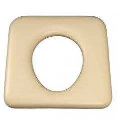 CUSM1 Commode closed front almond 440mm x 430mm