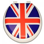 Union Jack on White
