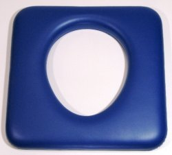 CUSM3 Commode hole to rear blue 440mm x 430mm