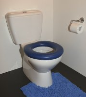 Special Needs Products - Toilet seat with no lid