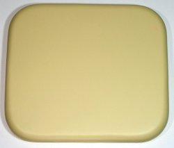 Shower Seat Soft Padded CUSLO2 340mm x 300mm Almond