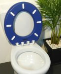 Oval toilet Seat Atlas white no lid