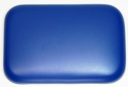 Shower stool back Soft Padded CUSLO1 285mm x 190mm Blue