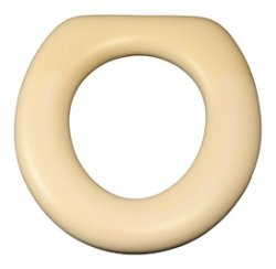 Oval Toilet Seat base only almond