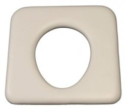 Commode closed front white 440mm x 430mm